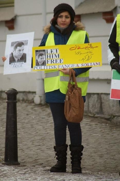734420 10202527720183410 1754660314 n تجمع اعتراضی حمایتی برای عبدالفتاح سلطانی در شهر هارشتاد نروژ