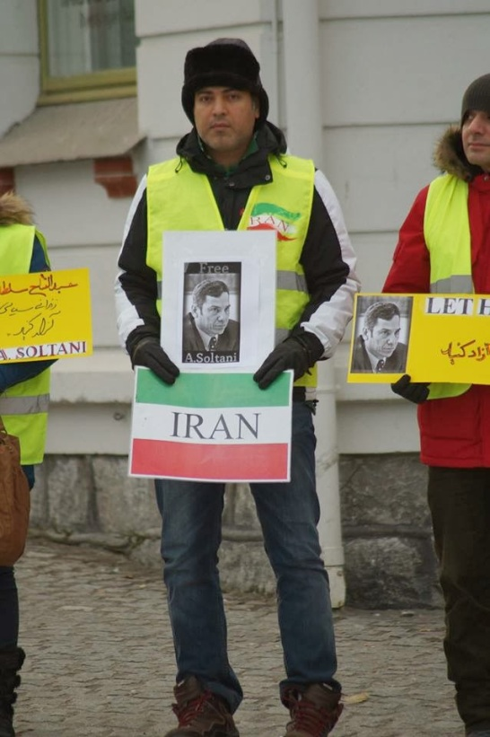 1469779 10202527723543494 1045316636 n تجمع اعتراضی حمایتی برای عبدالفتاح سلطانی در شهر هارشتاد نروژ
