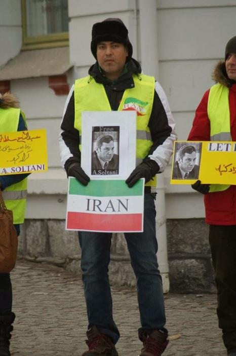 1391859 10202527723783500 2012086201 n تجمع اعتراضی حمایتی برای عبدالفتاح سلطانی در شهر هارشتاد نروژ