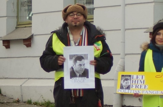 1455923 10202527773384740 1203788231 n تجمع اعتراضی حمایتی برای عبدالفتاح سلطانی در شهر هارشتاد نروژ