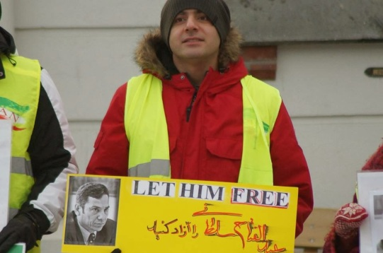 1395335 10202527742863977 1014309671 n تجمع اعتراضی حمایتی برای عبدالفتاح سلطانی در شهر هارشتاد نروژ